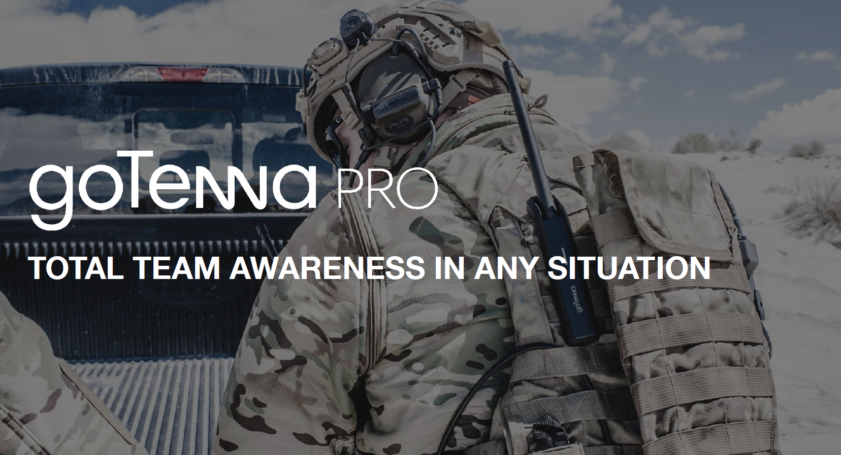 goTenna Pro: Total Team Awareness in Any Situation