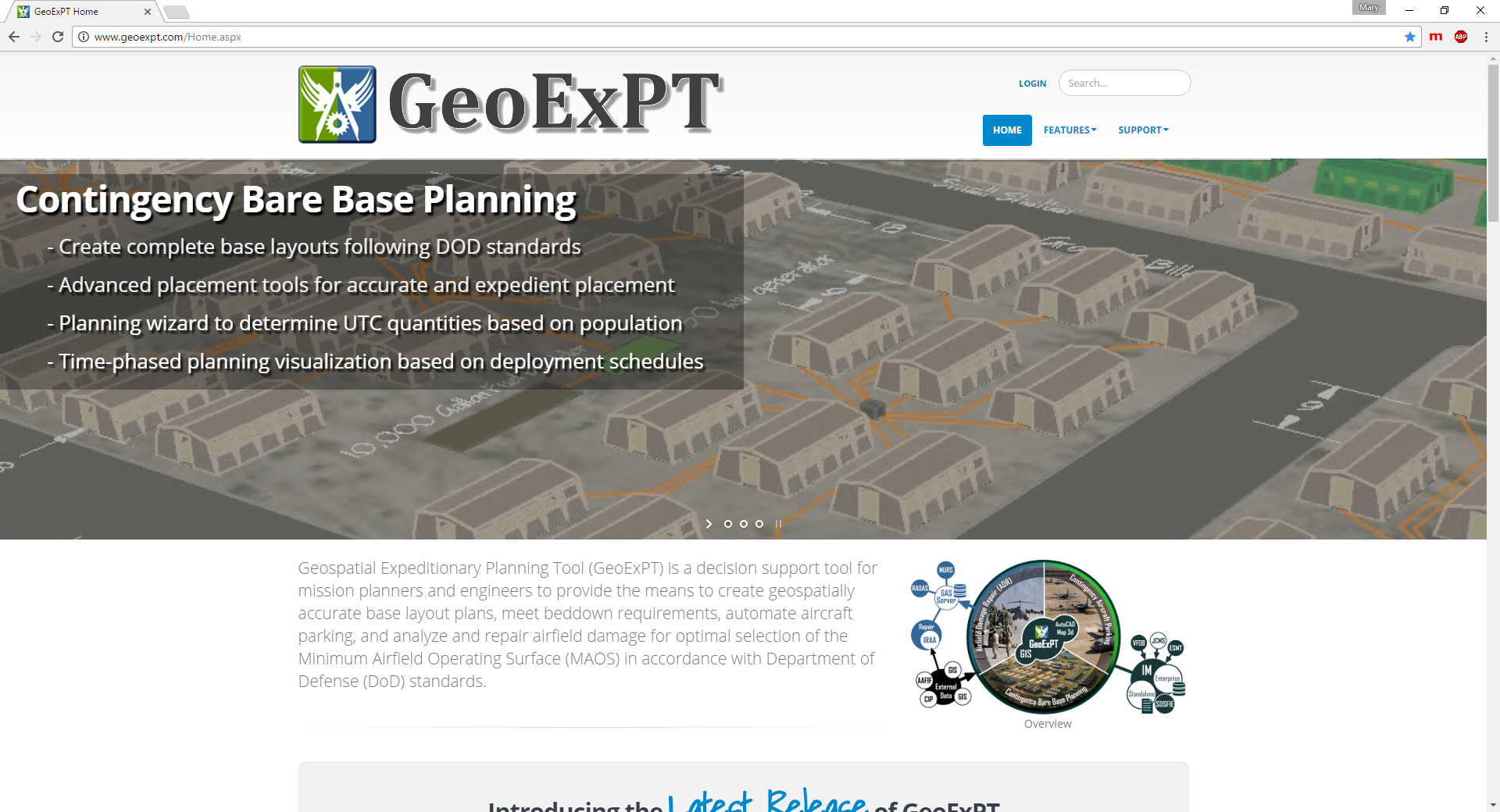GeoExPT Website